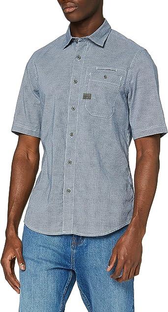G-STAR RAW Bristum 1pocket Slim Camisa para Hombre: Amazon.es: Ropa y accesorios