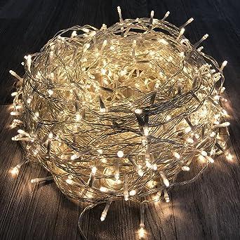 Tannenbaum Lichterkette Led.400er Led Tannenbaum Lichterkette Weihnachtslichterkette Warmweiß