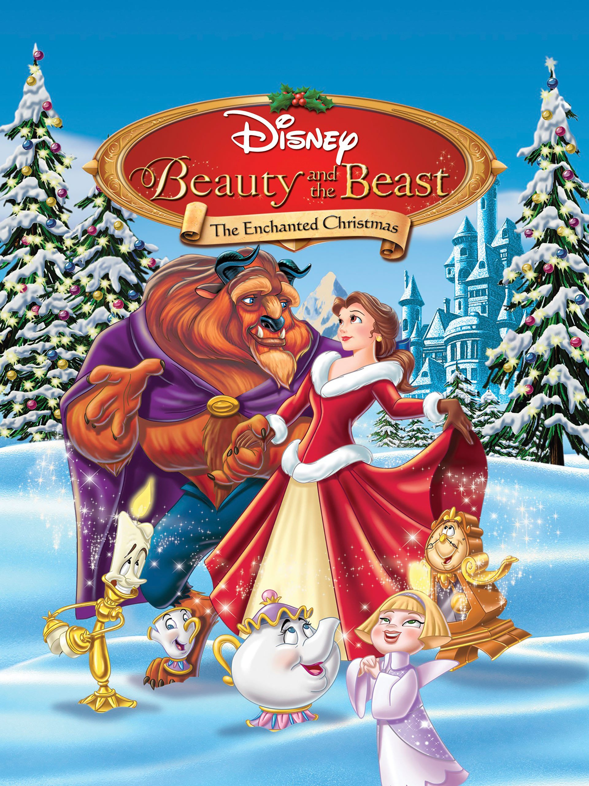Enchanted Christmas.Amazon Com Watch Beauty And The Beast The Enchanted