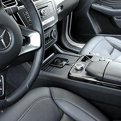 ytech Auto - Cargador inalámbrico para iPhone - Auto Wireless Pad cargador de coche para Samsung Galaxy S8, S8 +/s8plus, S7, s7edge, S6, S6edge, ...