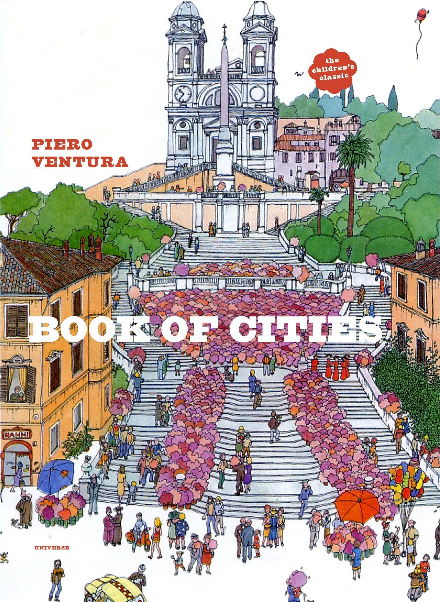 Book of Cities: Ventura, Piero: 9780789318213: Amazon.com: Books