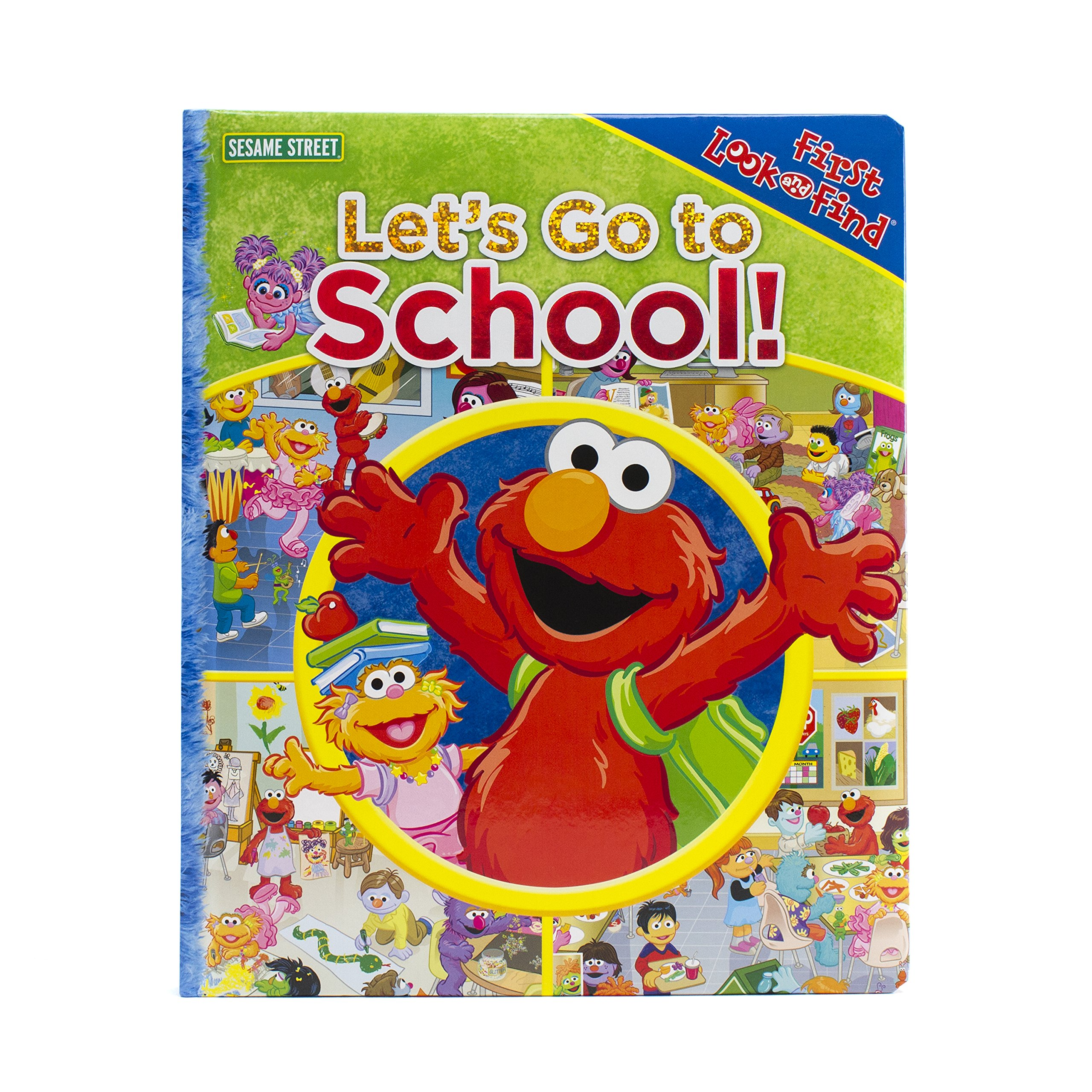 Sesame Street Let's Go to School First Look and Find 9781450829335