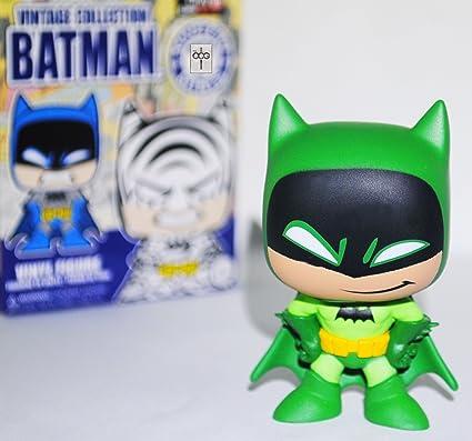 Funko Mystery Minis Figure Batman Vintage Collection Gamestop Batman Green