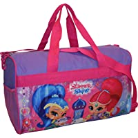 """Nickelodeon Shimmer and Shine Girl's 18"""" Carry-On Duffel Bag"""