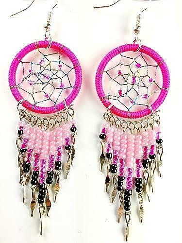 Amazon Handmade Dream Catcher Earrings Dangle Earrings Jewelry Magnificent Dream Catcher Earrings Online