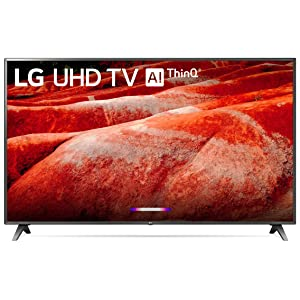 "LG 86UM8070PUA 86"" 4K Ultra HD Smart LED TV (2019), Black"