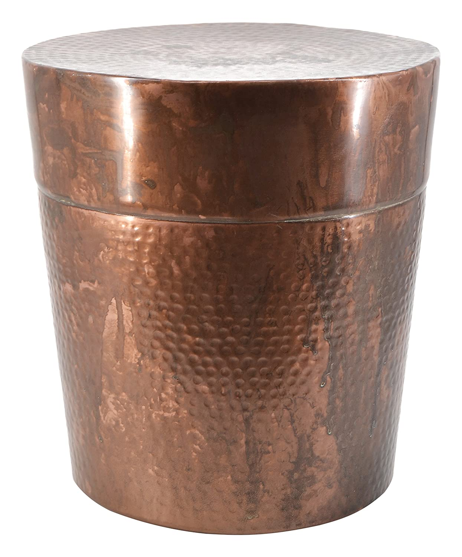Moycor Antique Side Table, Metal, Bronze, 35x 35x 50cm 765014.0