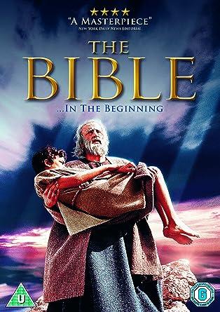The Bible Dvd 1966 Amazoncouk George C Scott Ava