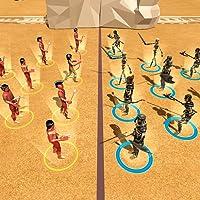 Retro Battle Simulator Game: Roman Civil War
