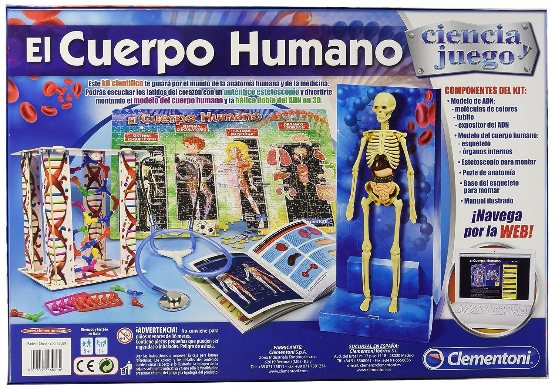Ciencia y Juego Cuerpo Humano (Clementoni 550890): Amazon.es ...