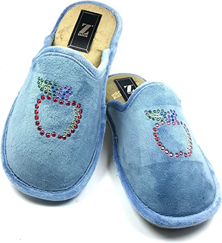 Zapatillas de casa para Mujer Logo Appel con Plantilla Relax y ...