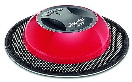 Vileda Virobi - Robot aspirador con dos programas de limpieza