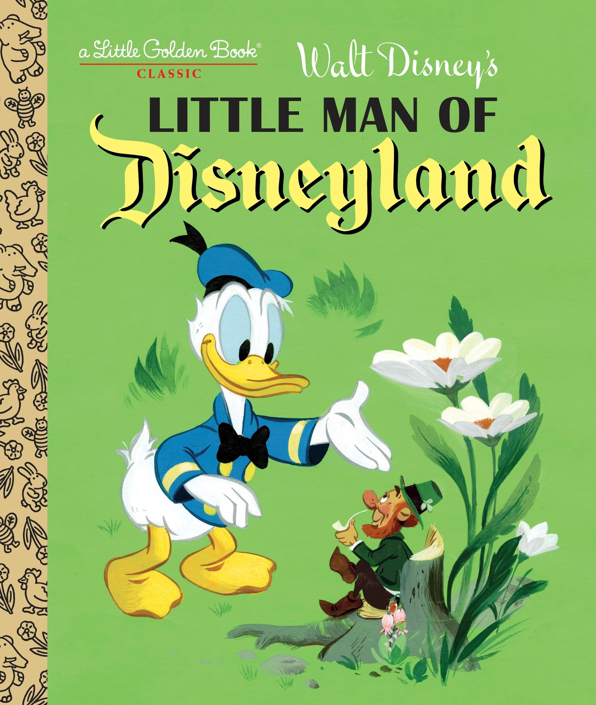 Little Man of Disneyland (Disney Classic) (Little Golden Book): RH Disney, Walt Disney Studio: 9780736434850: Amazon.com: Books