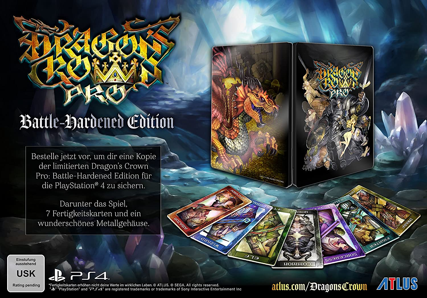 Dragons Crown Pro - Battle Hardened Edition - PlayStation 4 ...