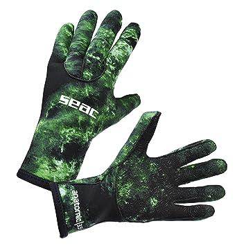 e078739d018b88 Seac 0160045067055 A, Handschuhe Unisex – Erwachsene, grün, Einheitsgröße