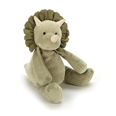 Jellycat Duffie Dinosaur Stuffed Animal, 10 inches