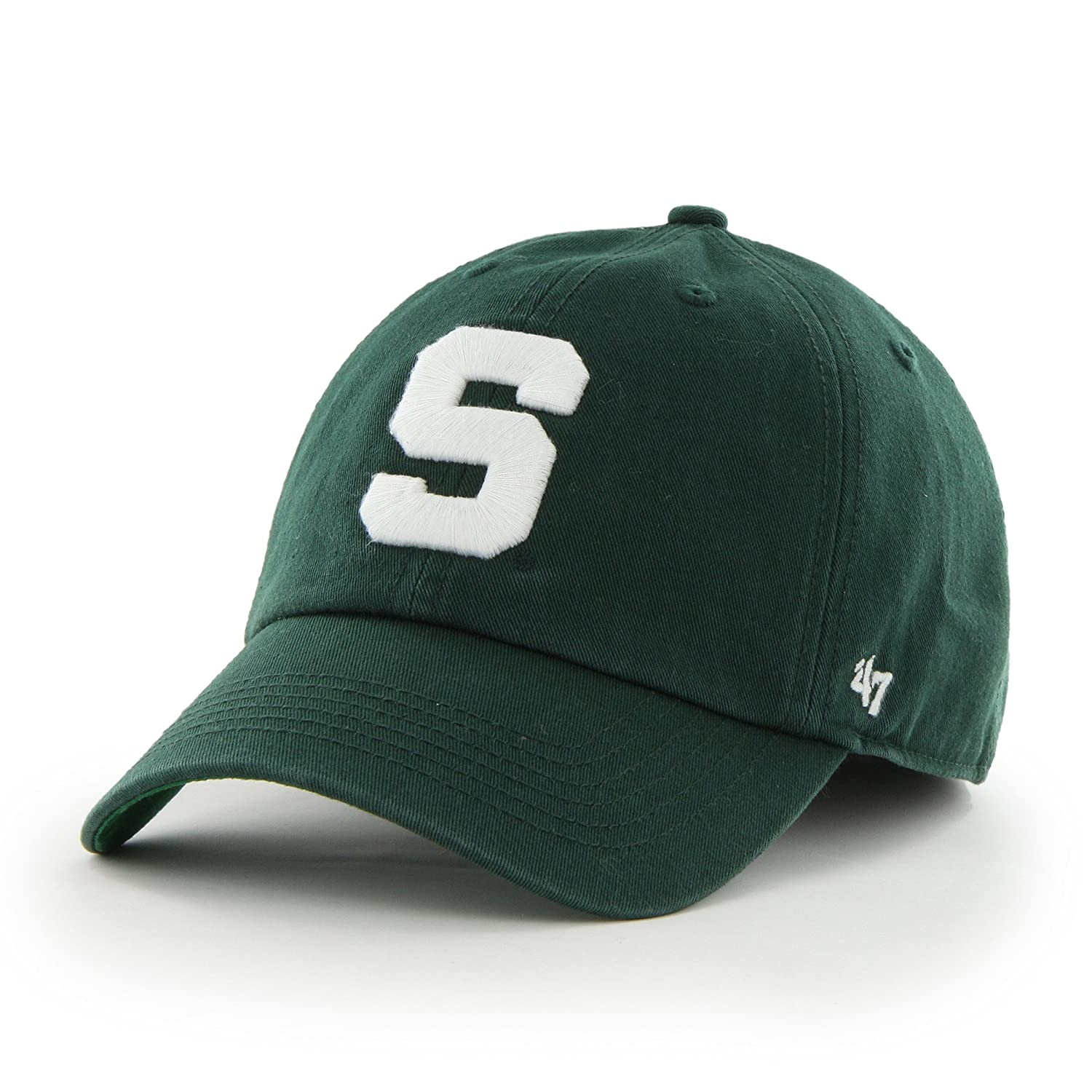 '47 Brand NCAA Michigan State Spartans Franchise Fitted Hat 47Brand Replen Code C-FSVNF29RPF-DG-L