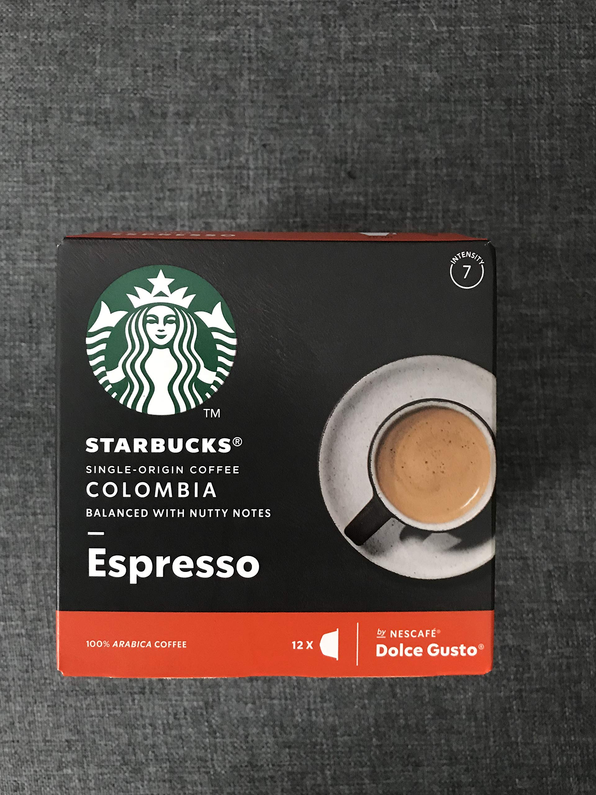 Nescafe Dolce Gusto Starbucks Colombia Espresso-12 Drinks
