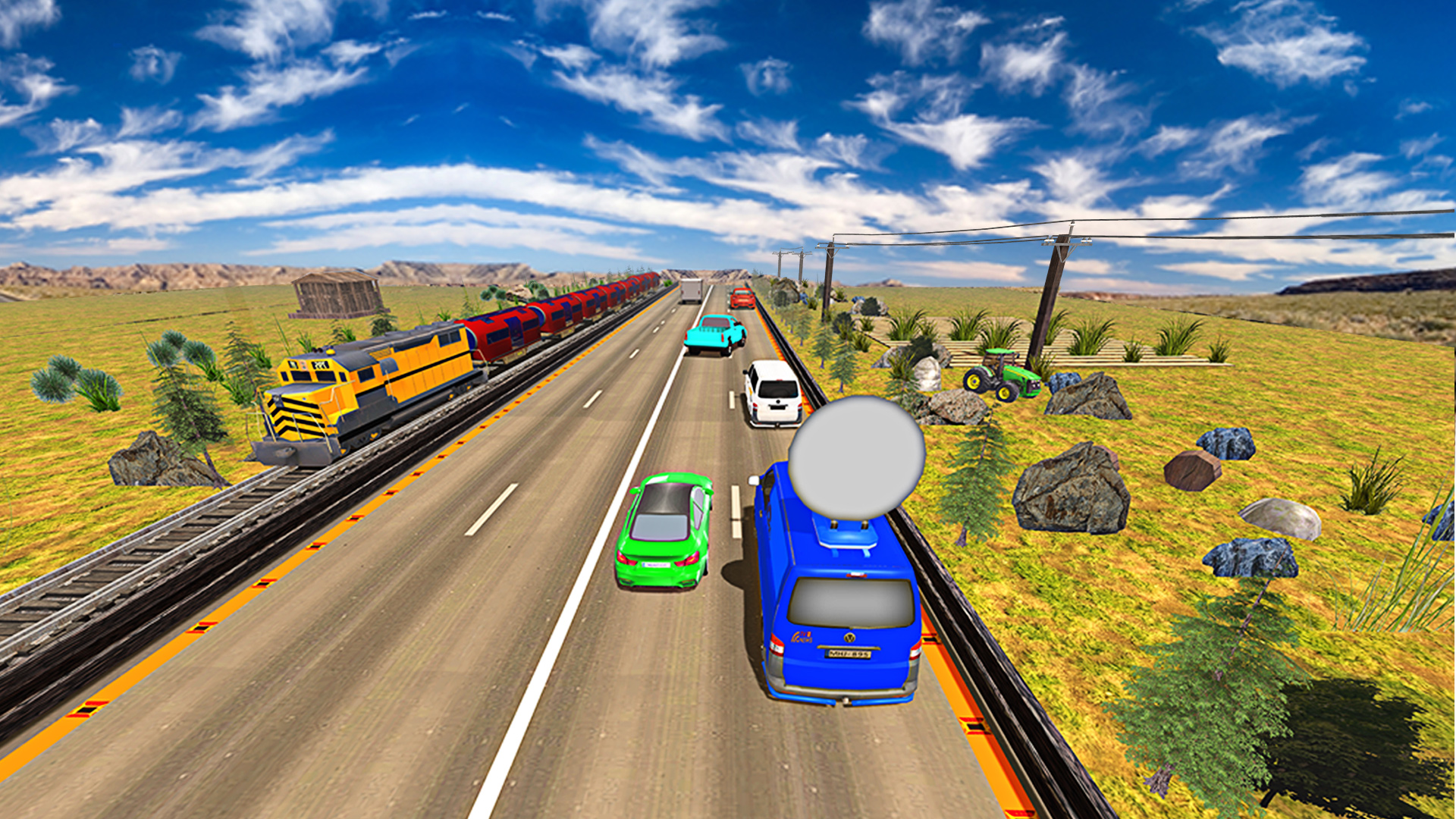 Amazon.com: Turbo Traffic Racing simulator 3D - Racing game: Appstore for Android