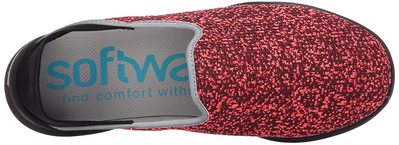 SoftWalk Women's Simba Flat B01MQYG654 7 W US|Coral Multi