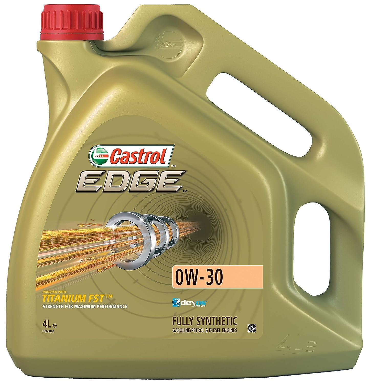 Castrol EDGE Aceite de Motores 0W-30 1L (Sello inglés): Amazon.es: Coche y moto
