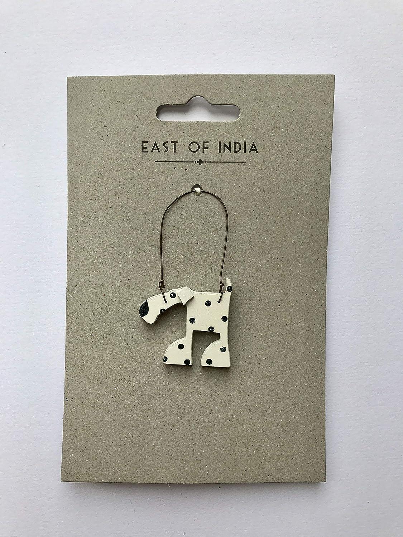 East of India: poco Animal perchas diseñado por Kate Hawkins para Oriental de la India elefante de regalo de decoración, perro o caballo