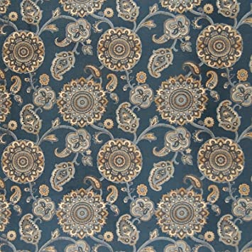 Amazon Com Federal Blue Floral Suzani Tapestry Jacquard Made In Usa