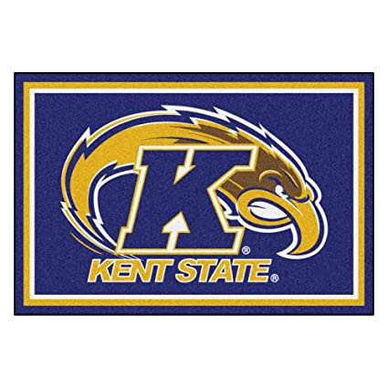FANMATS 20194 Team Color 59.5x88 Kent State Rug