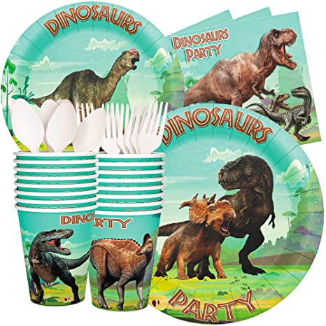 Honey Duck Dinosaur Party Supplies Birthday Decorations