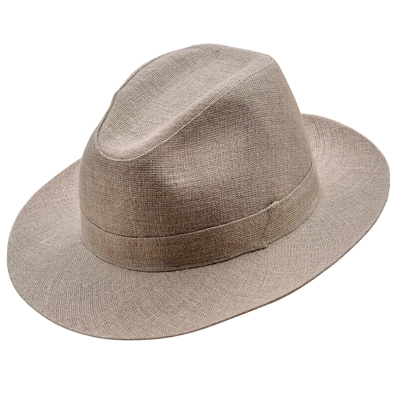 Sterkowski Fedora Corleone Summer Linen Sewn Hat