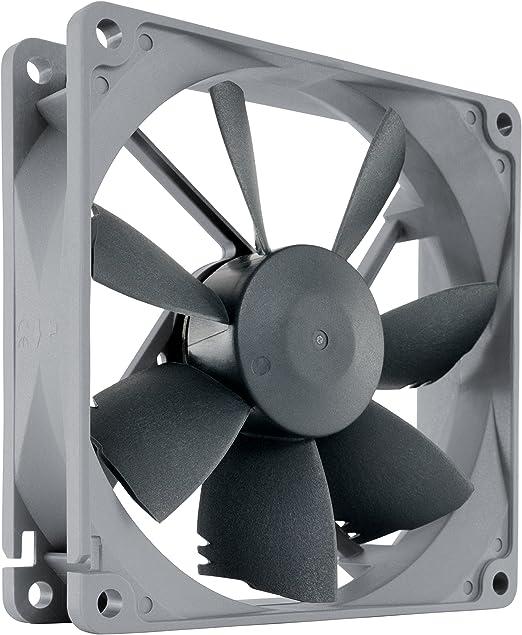 Noctua NF-B9 redux-1600 PWM, Ventilador de alto rendimiento, 4 pines, 1600RPM (92mm, gris): Amazon.es: Informática