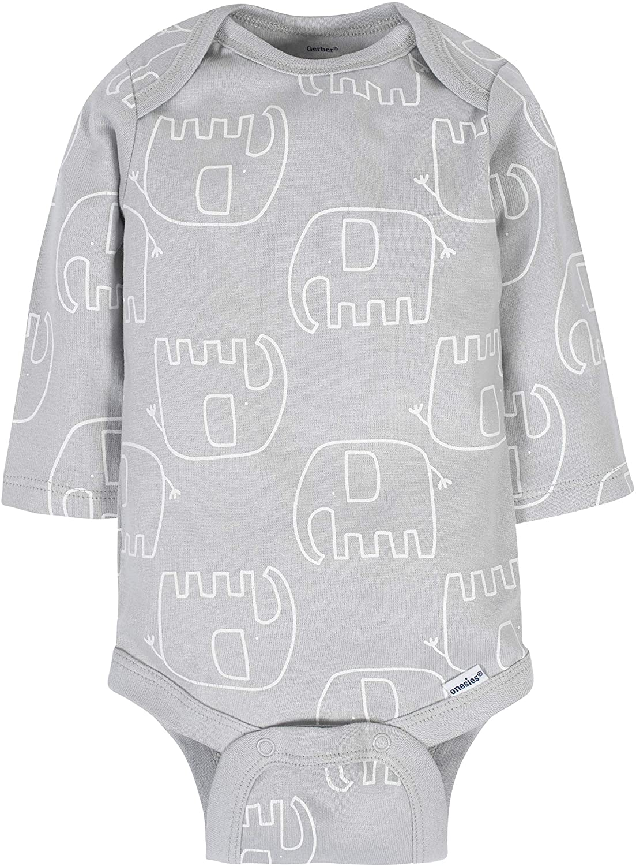 Gerber Baby 6-Pack Long-Sleeve Onesies Bodysuit