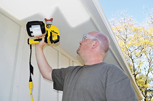 Wagner 0525032 is a two-speed hand held sprayer designed for the home owners