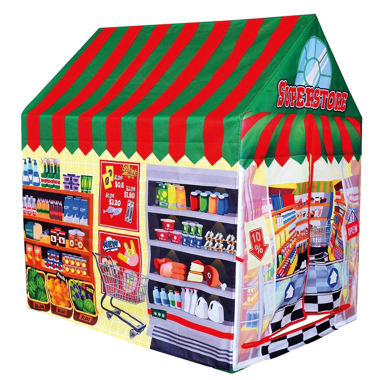 venta mundialmente famosa en línea Bino 82817 Campaña infantil tienda tienda tienda   para interior y exterior con sistema de Pop-Up  Felices compras