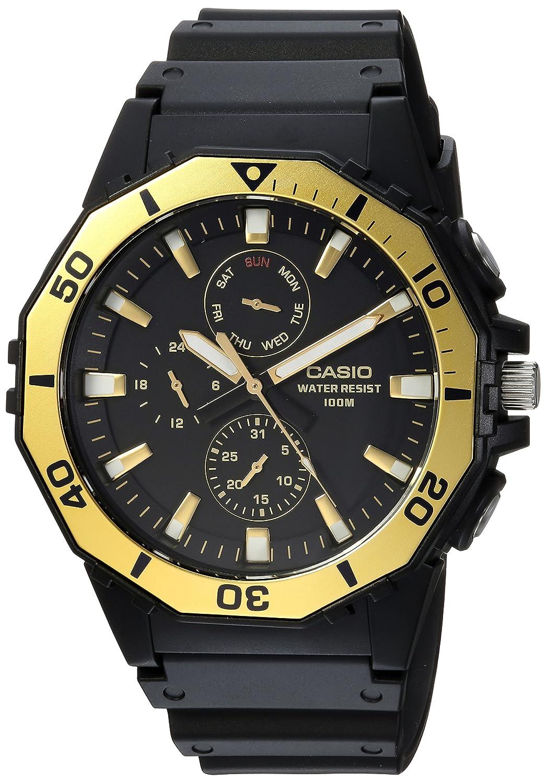 Casio Men s Sports Analog-Quartz Watch with Resin Strap, Black, 21 Model MRW-400H-9AVCF