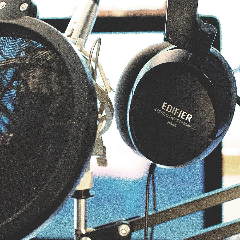 Edifier H840 Audiophile Cuffie Over-the-ear Hi-Fi con sistema di isolamento  acustico efdf3058c070