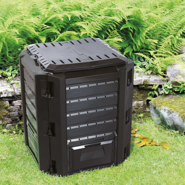 térmica bio compostador - Compostador plástico negro 380 ...
