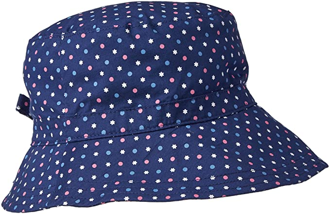 United Colors of Benetton 6EZ8B41U1, Sombrero para Bebés, Azul (Navy/Multi)