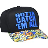 "BIOWORLD Pokémon ""Gotta Catch 'Em All"" Snapback Hat"