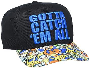 b49f30b1df5 Amazon.com  bioWorld Pokémon Gotta Catch  Em All Snapback Hat  Toys ...