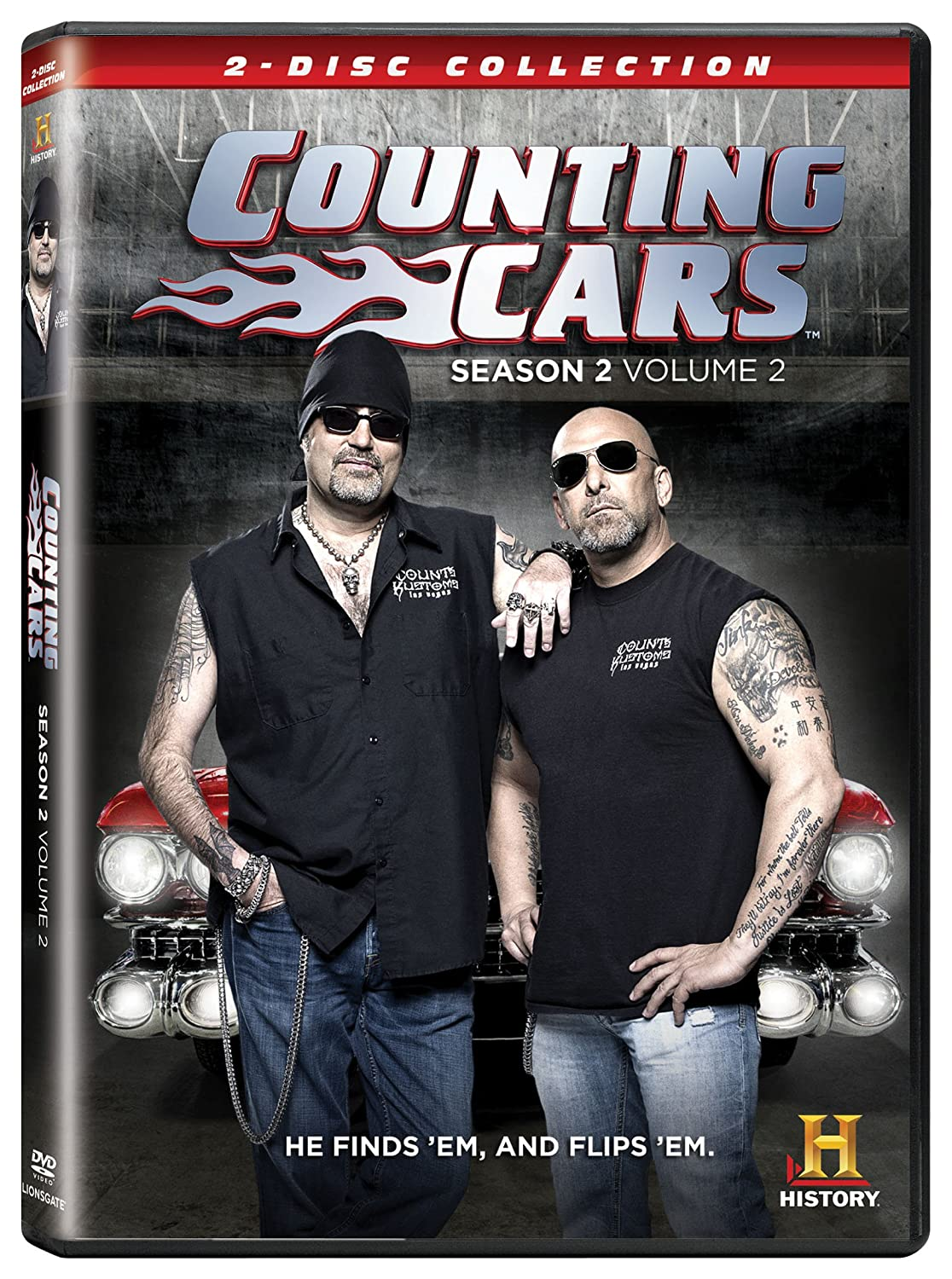 Amazon In Buy Counting Cars Season 2 Vol 2 Dvd Blu Ray Online At Best Prices In India Movies Tv Shows