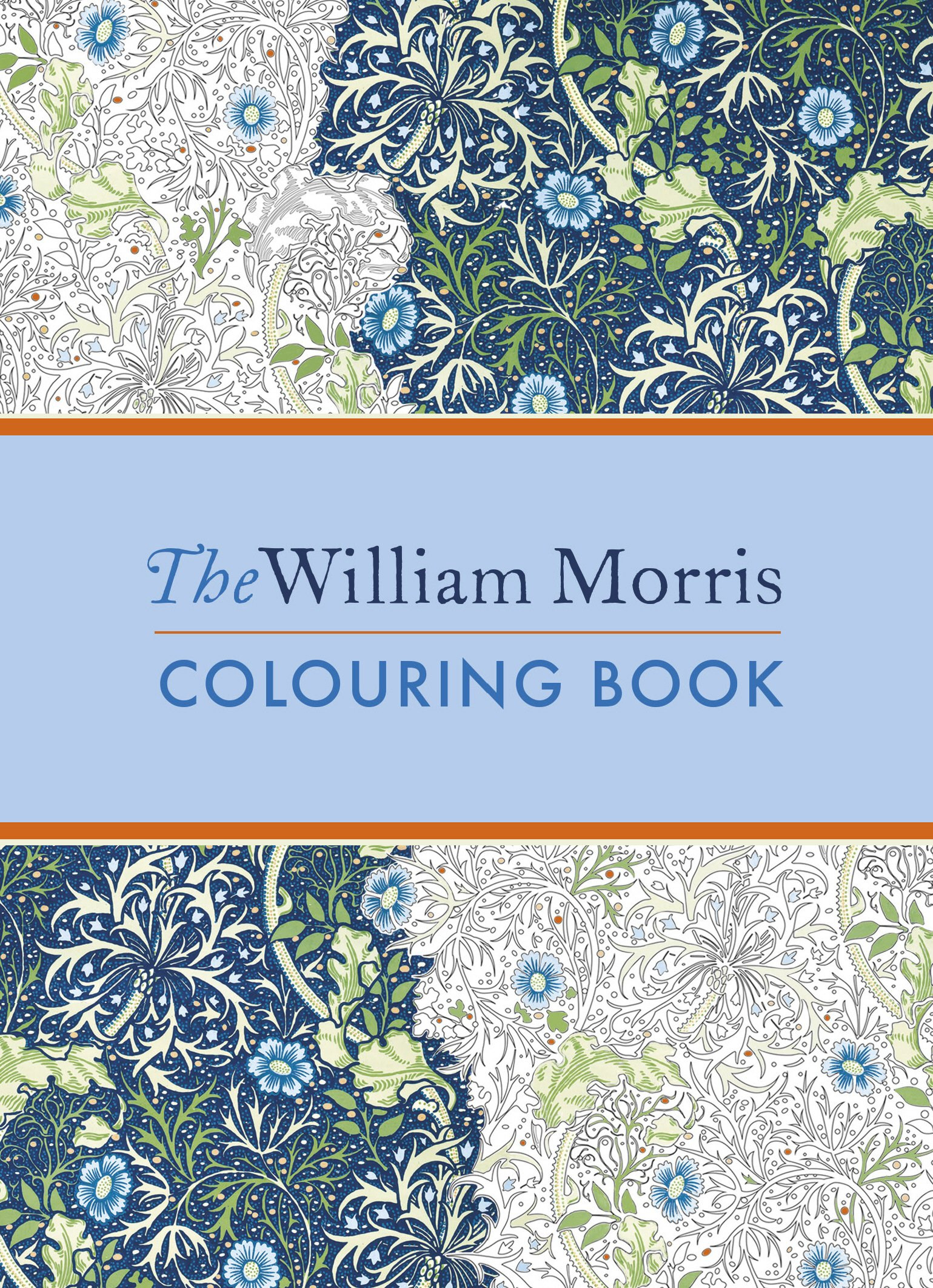 The William Morris Colouring Book by imusti