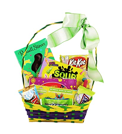 Amazon classic easter basket for teenagers college student or classic easter basket for teenagers college student or military members negle Gallery