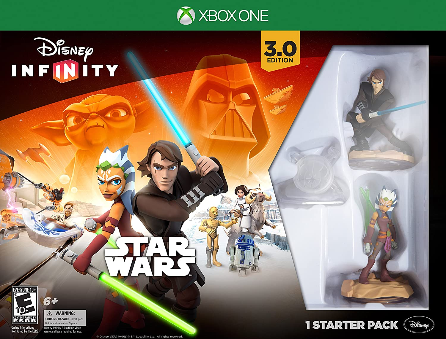 infinity 3 0. Amazon.com: Disney Infinity 3.0 Edition Star Wars Starter Pack For Xbox One: Interactive: Video Games 3 0