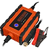 BLACK+DECKER BC2WBD 2 Amp Waterproof Automatic Battery Charger / Maintainer