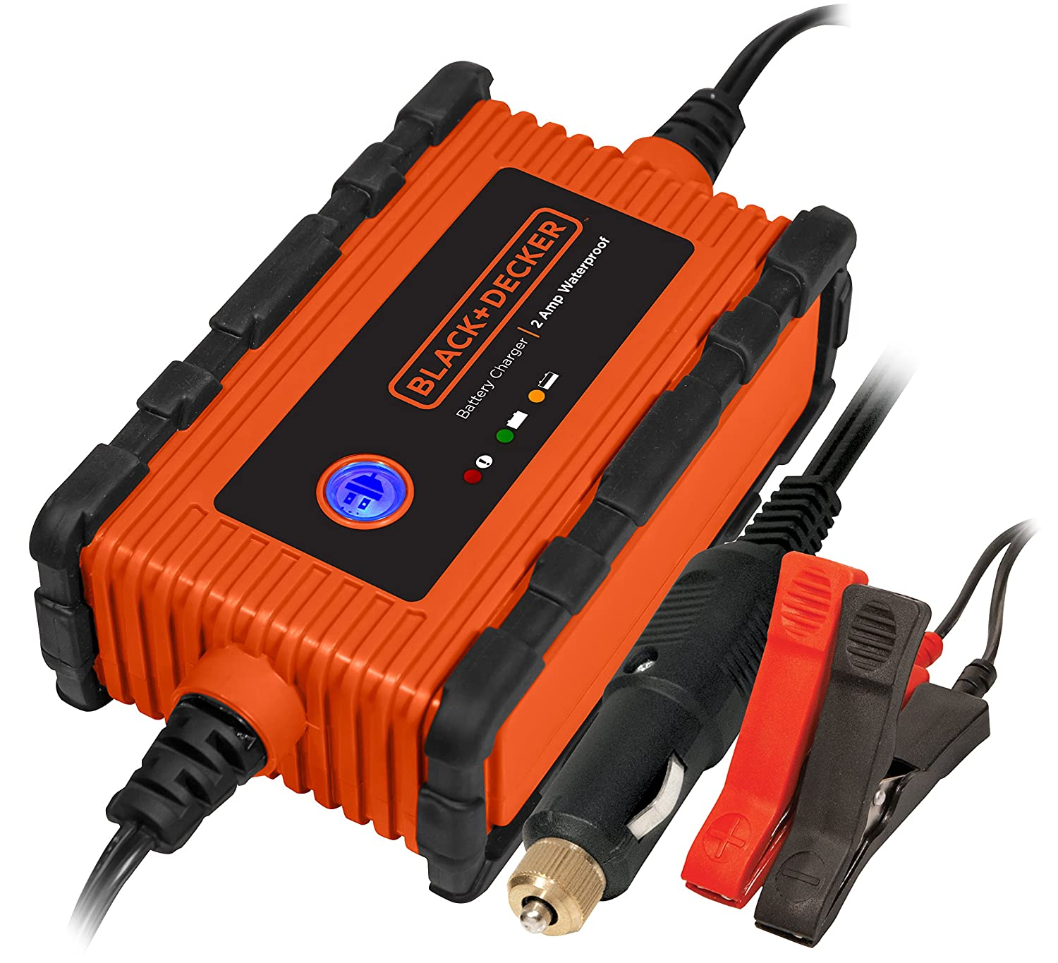BLACK+DECKER BC6BDW 6 Amp Waterproof Automatic Battery Charger / Maintainer