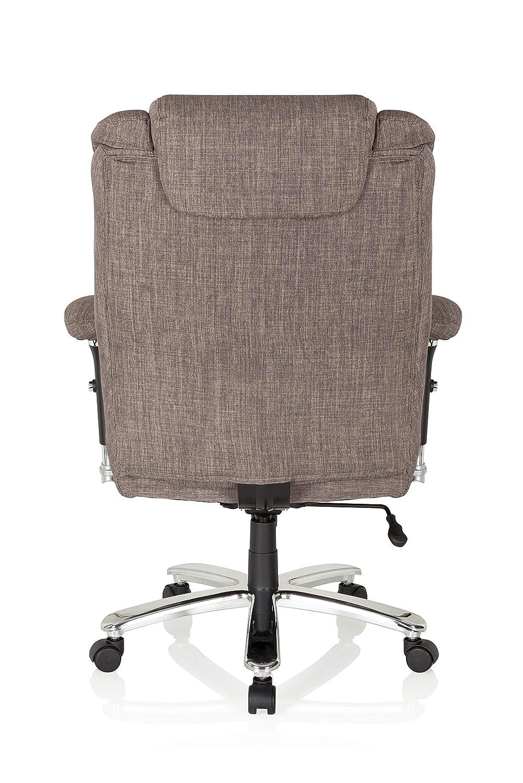 hjh OFFICE 750010 silla de oficina BUILDER XXL tejido gris silla alta resistencia hasta 180 kg: Amazon.es: Juguetes y juegos