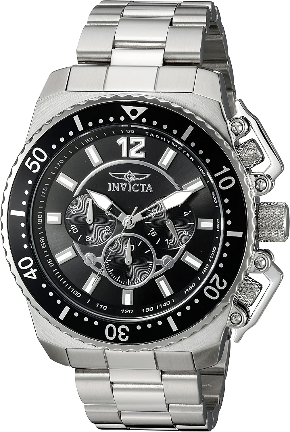 Invicta Men s Pro Diver Quartz Stainless Steel Casual Watch Model 21952