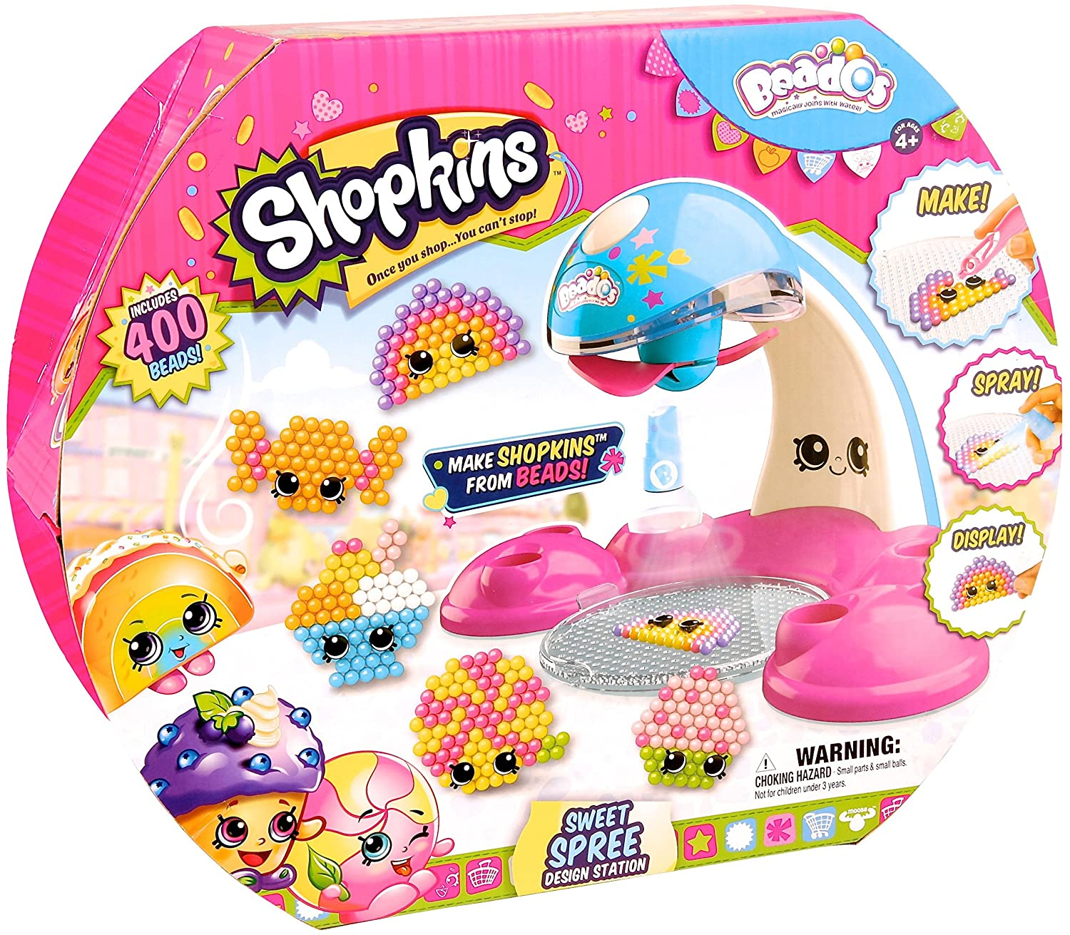 Beados Shopkins Season 3 Quick Dry Design Studio: Amazon.es: Juguetes y juegos