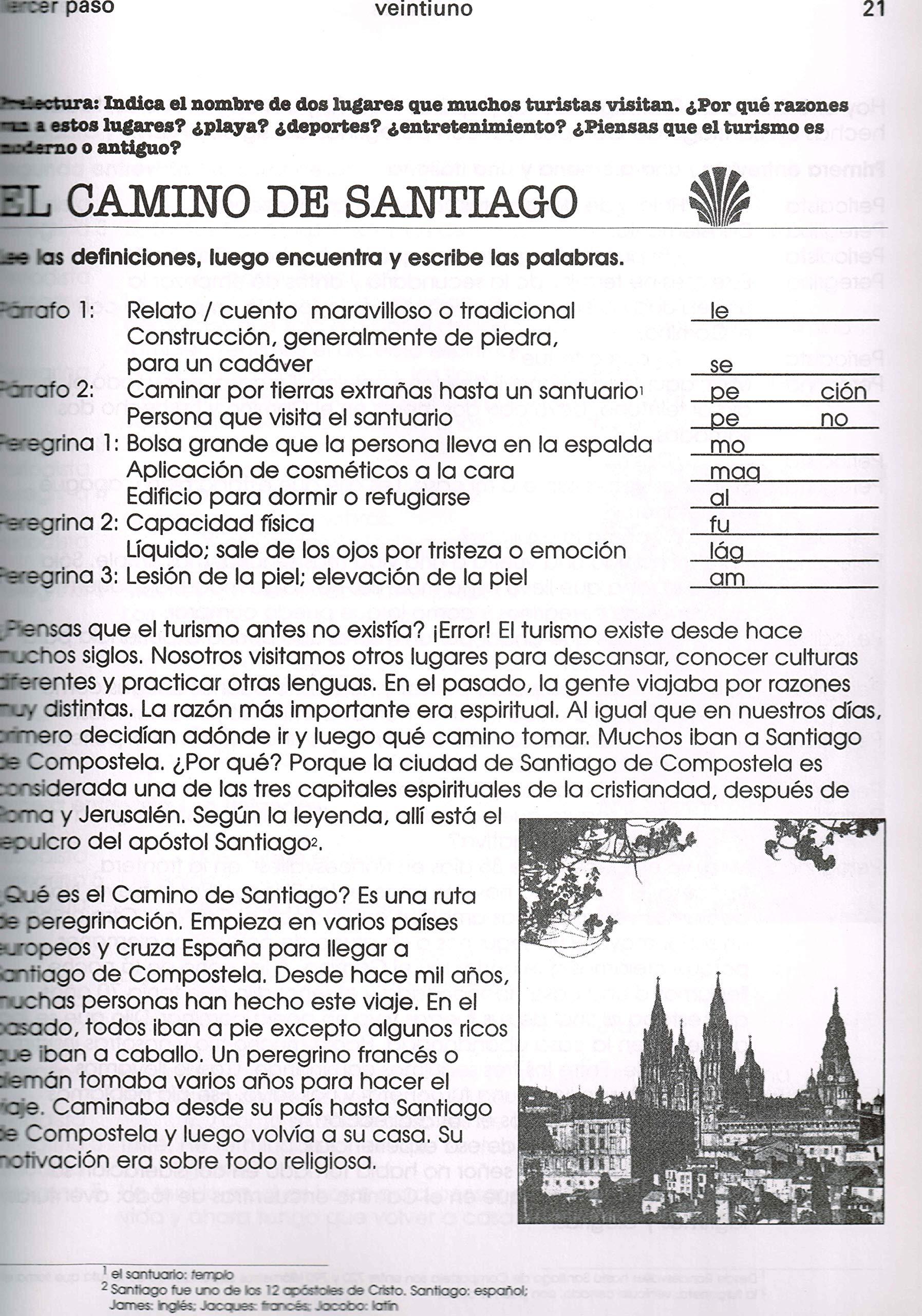 Amazon.com: Tercer Paso a La Cultura / Third Step into Spanish Culture (Spanish Edition) (9782921554954): Eva Neisser Echenberg, Emilia Deffis, ...